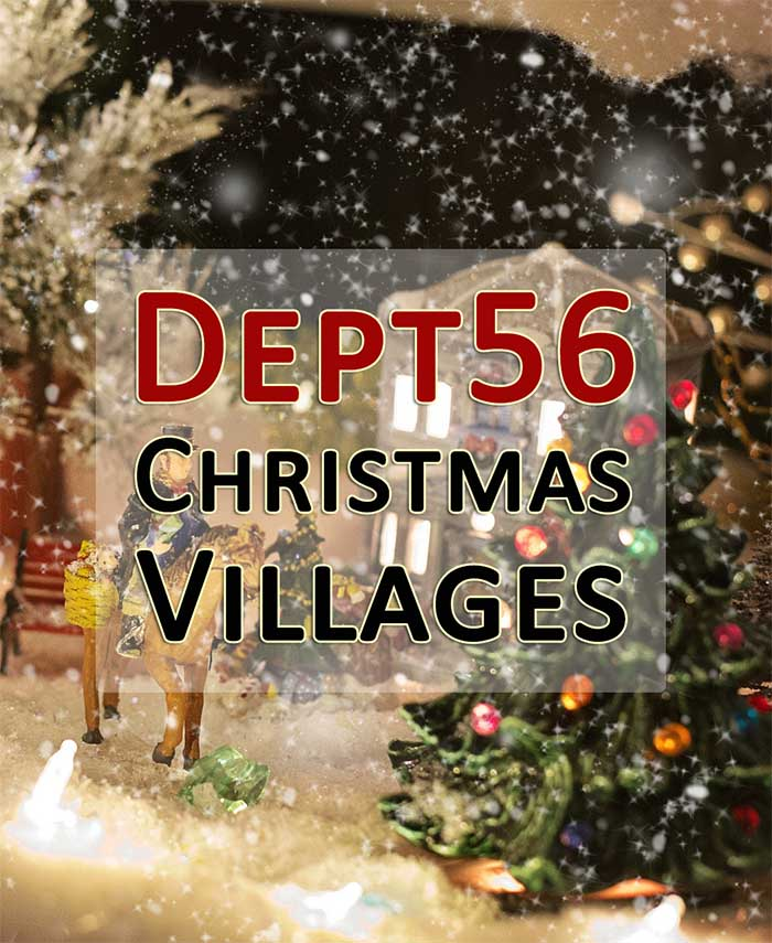 department56 christmas snow village and displays