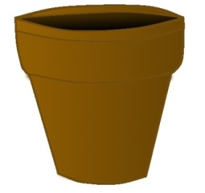 use terracotta pots to make christmas bells