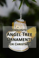 Christmas Angel Tree Ornaments