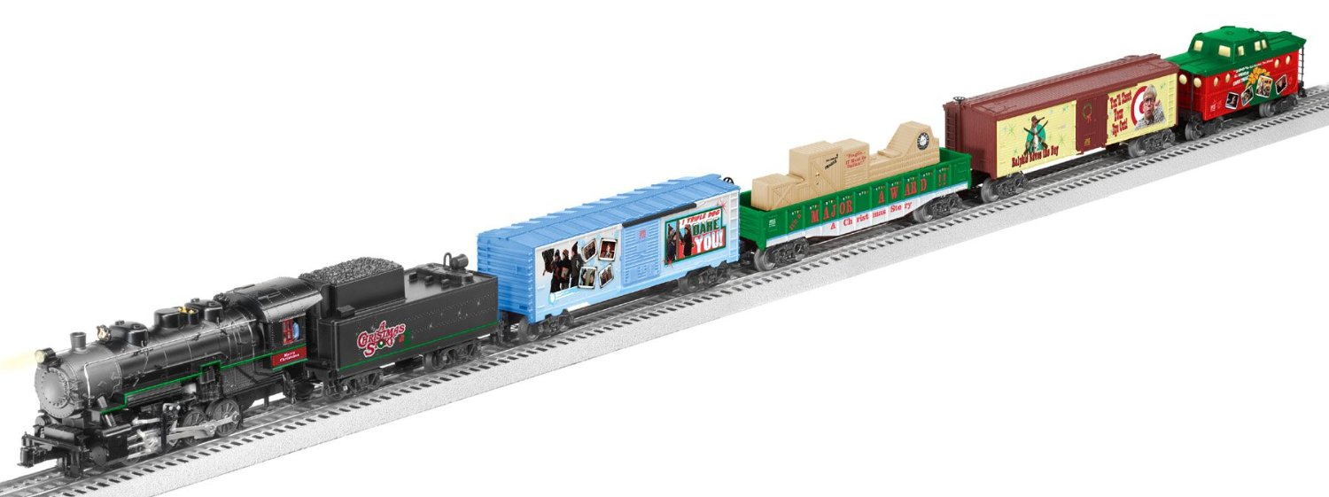 Christmas Train Set For Under The Tree