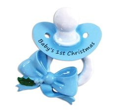 Baby Pacifier Ornaments for Christmas Tree