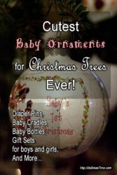cutest baby ornaments for christmas trees ever