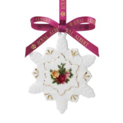 royal albert old country roses christmas tree ornaments