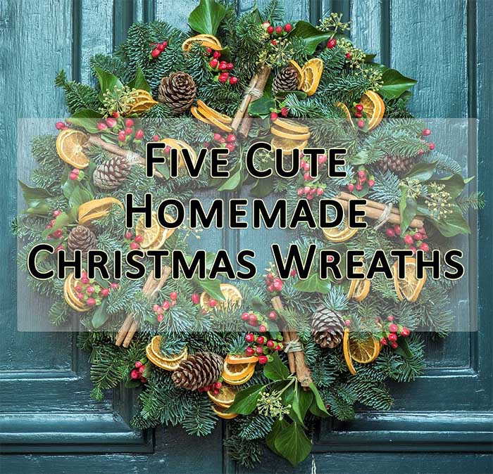 5 cute homemade christmas wreaths small