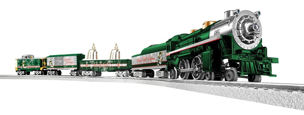 lionel silver bells christmas tree train