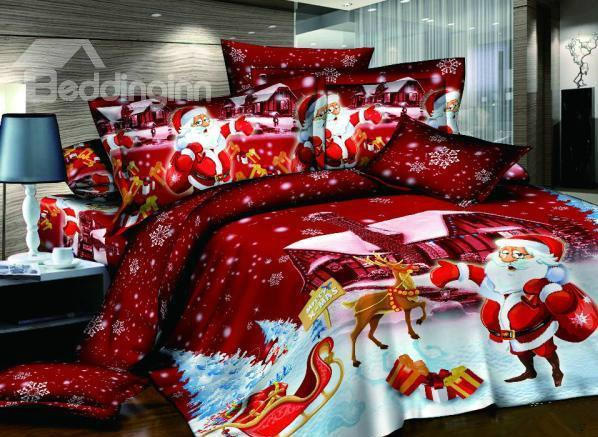 Christmas Bedding Sets Bring Sweet Dreams