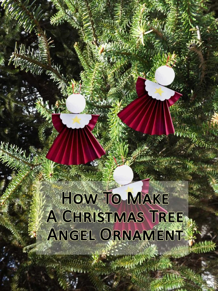 How to make angel tree ornaments a fun christmas craft for Angel christmas tree decoration