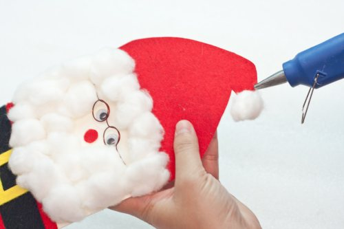 how to make a 3D santa claus greeting card - 20