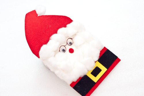 How To Make A 3D Santa Claus Greeting Card