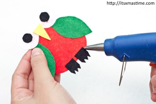 How To Make a Christmas Owl Ornament