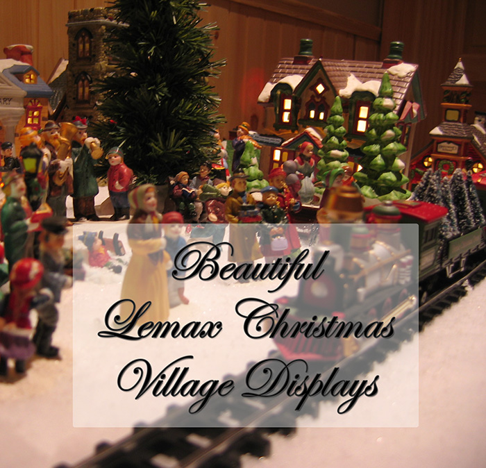 beautiful lemax christmas villages