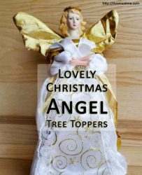 lovely christmas ange tree toppers