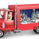 Animated Santa's Delivery Truck