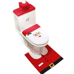 Cute Christmas Toilet Seat Cover Sets