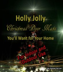jolly christmas door mats outdoor indoor use