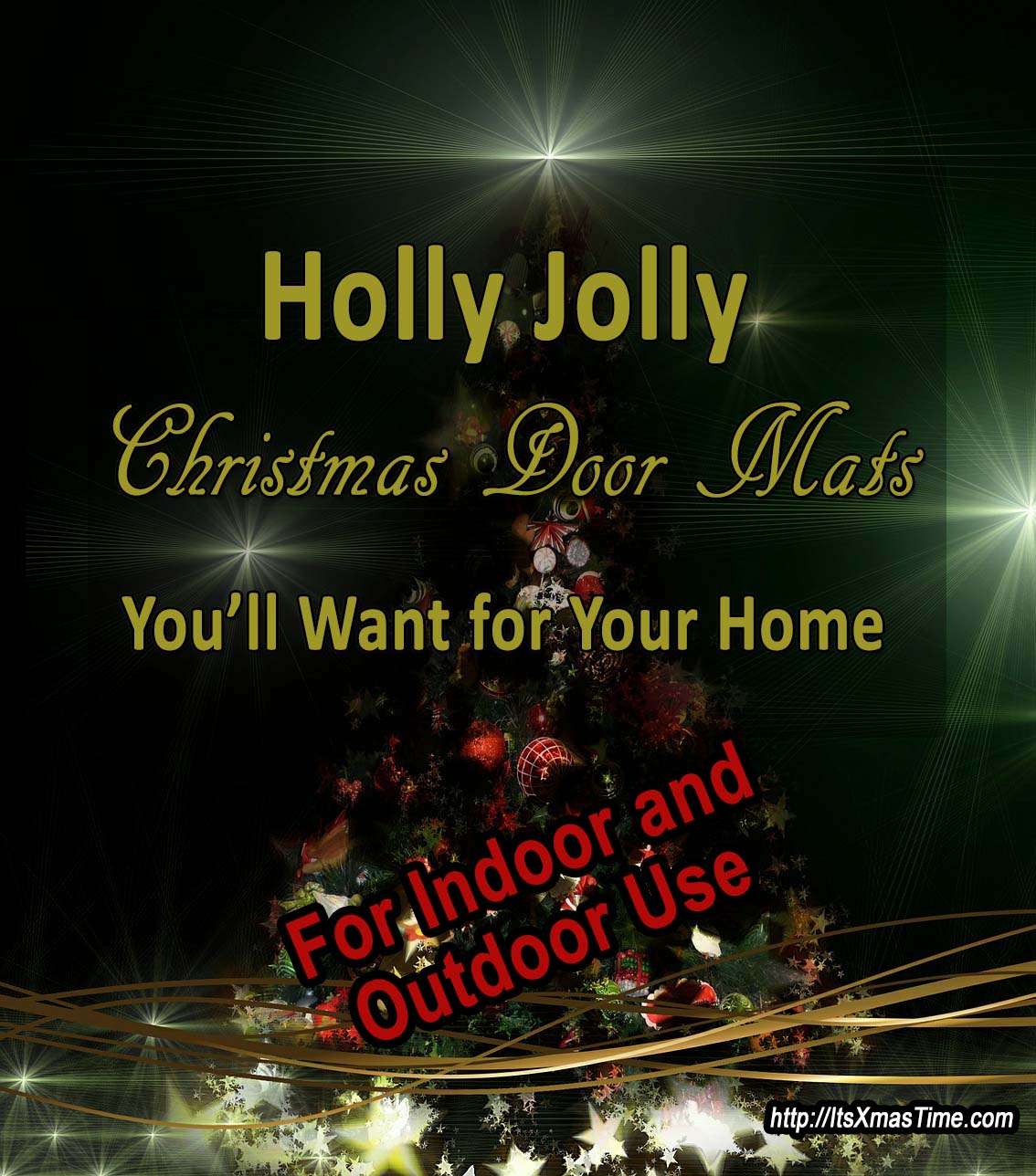Jolly Christmas Door Mats For A Sweet Home It S