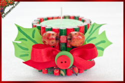 How To Make Upcycled Christmas Candles 17