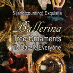 Ballerina Christmas Tree Ornaments