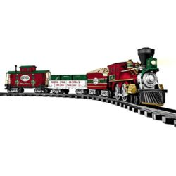 Lionel North Pole Central Christmas train set