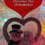 Engagement Christmas Tree Ornaments